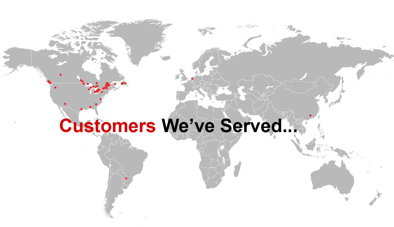 Customers We've Served